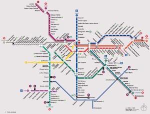 Rede Metroviária de São Paulo